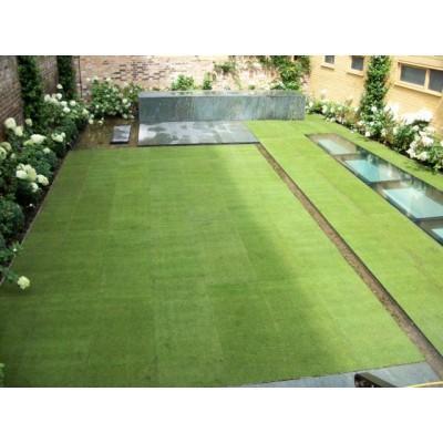 Using Turf for Garden Design